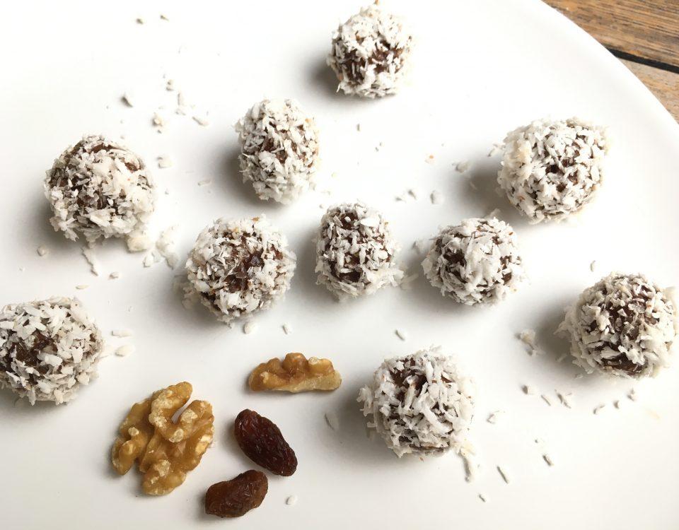 Bliss bals omgekeerde Bounty's - sneeuwballen - Chocoladezusjes